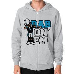 Dab On Em Zip Hoodie (on man) Shirt