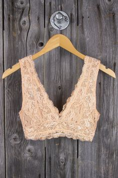 I love these bralettes especially when they peek out of a plain shirt so it makes it more interesting.