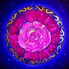 ⊰❁⊱ Mandala ⊰❁⊱ Rosa