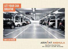 Arihant Anshula - Taloja Phase II 1, 2 & 3 BHK Mini Township  Ample Car Parking  www.asl.net.in/arihant-anshula.html  #ArihantAnshula #RealEstate #Taloja #NaviMumbai #Property #LuxuryHomes