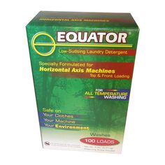 Equator High-efficiency 5-pound Laundry Detergent, Silver