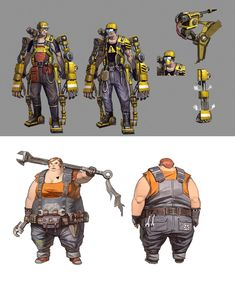 borderlands 2 concept art | VISITE: Borderlands 2 Website | Borderlands 2 no Facebook