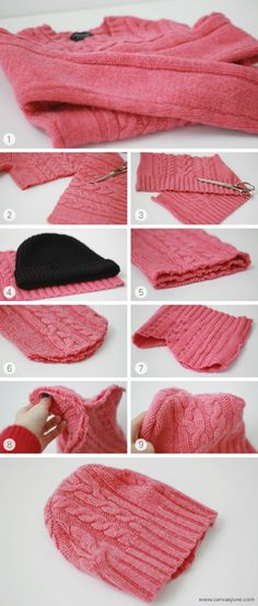 DIY BEANIE by Canvas June www.canvasjune.com