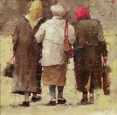 Andre Kohn-love this! Reminds me of three of my ladies I used to take care of!!