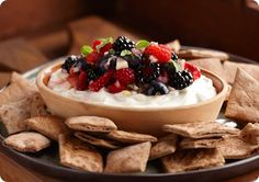 Driscoll's Goat Cheese and Mixed Berry Fondue www.driscolls.com #driscolls #sweepstakes