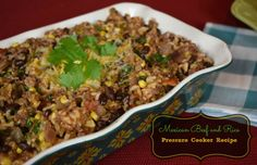 I haven't fixed a Mexican inspired dish in a while so when I saw this recipe for Mexican Beef and Rice using the pressure cooker I knew I had to give this a try. It took almost no time to make but the flavor that …