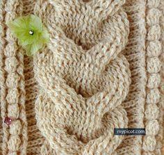Butterfly Creaciones: trenza a crochet pap