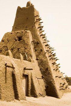 https://flic.kr/p/6YEp5f | Mosquée. Timbuktu. Mali