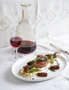Rezept: Spargel mit Kalbsfilet und Morcheln