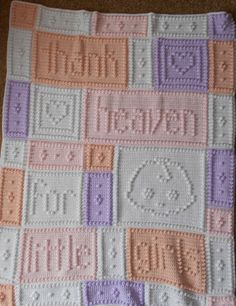 HEAVEN pattern for crocheted blanket by ColorandShapeDesign