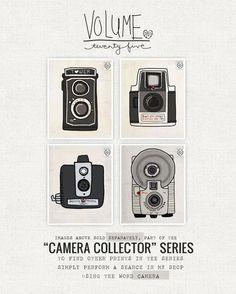 Camera Collector Series- New Art!