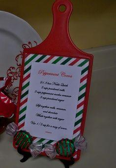 Dollar Tree DIY Recipe Holder Christmas Decor Craft