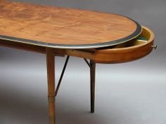 Dining / working table Designer unknown Sweden 1950's Price: SOLD Size: 190 x 75 x 72 cm