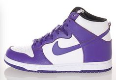 Love this purple sneaker! Purple Sneakers, Purple Nikes, High Top Sneakers, Shoes Sneakers, Top Shoes, Me Too Shoes, Nike Shoes, Nike Footwear, Sky High