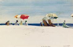 Edward Hopper - Glocester Beach/ Bass Rocks (1924)