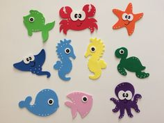 Paper Crafts For Kids, Foam Crafts, Diy For Kids, Diy And Crafts, Diy Bebe, School Decorations, Mermaid Birthday, Baby Shark, Grafik Design