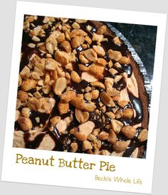 Peanut Butter Pie for Pi Day!