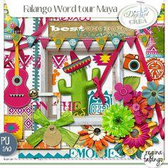 Falango world tour Maya