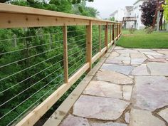 cable rail « arbor fence inc | a diamond certified company ... - Patio Fencing Ideas