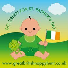 Go GREEN for St. Pat