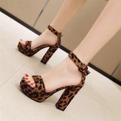 Women Sandals Square Heels Platform Leopard Pumps Woman Shoes - #chunkyheels #sandalssummer #sandalsoutfit #sandalsheels #heels #heelsclassy #heelswithjeans #heelsprom #icuteshoes #blockheelsoutfit #blockheelsoutfitjeans #blockheelsoutfitjeansstreetfashion #heelsclassyelegant #heelsclassyelegantoutfit #heelsoutfits #heelsoutfitscasual #heelswithjeansoutfit