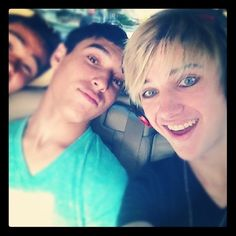Will, Gabe, and Dalton of IM5. Dalton's eyes are so blue in this picture!!