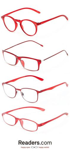 2cb4570b00 Glasses · Need a punch of red for your holiday party  Add a pair of red  reading