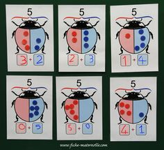 Jeux Mathématiques en maternelle Math Addition, Addition And Subtraction, Ways Of Learning, Learning Activities, Math Logo, Irrational Numbers, Renaissance Era, Petite Section, Animals