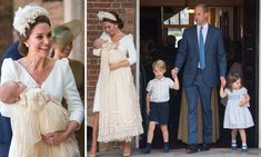 Prince Louis christening is attended by William, Kate, George and Charlotte