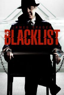 """The Blacklist (TV Series 2013– )Former government agent Raymond """"Red"""" Reddington (James Spader) has eluded capture for decades. But he suddenly surrenders to the FBI with an offer to help catch a terrorist under the condition that he speaks only to Elizabeth """"Liz"""" Keen (Megan Boone), a young FBI profiler who's just barely out of Quantico.  Written by Jon Bokenkamp, Kearney native."""