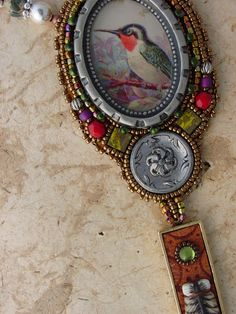 RESERVED for Pat Shapeshifter Necklace by HeidiKummliDesigns