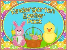This pack contains Easter themed alphabet practice, rhyming, syllables, patterns, numbers 1-20, counting, adding, subtracting, shape sorting, and more! Also included are upper and lowercase ABC and number/counting game cards. 28 ready to use printables plus game cards. Many of the printables can also be laminated and used in centers. Black&white copies of color printables provided.  *Aligned to Kindergarten Common Core Standards* $