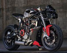 Apogee Motorworks' Ducati 749 by Gustavo Penna - Los Angeles (via Inazuma Cafe Racer)