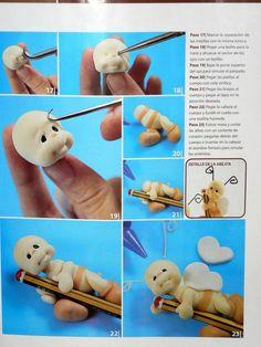 Мобильный LiveInternet Журнал Porcelana Fria. Лепка из пластики   Марриэтта - Вдохновлялочка Марриэтты  