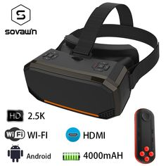 1f7f0cf50b5 Sovawin H3 All in One VR Headset 3D Smart Glasses Virtual Reality Goggles VR  Helmet 2K WIFI HDMI Video Box with Controller