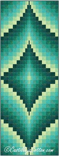 Fire Within Peacock Quilt Pattern