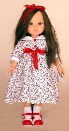 Ruth Treffeisen doll Olga / Paola Reina dolls / I love dolls without fringe