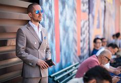 Pitti Uomo SS 2016, double breast suit, menswear