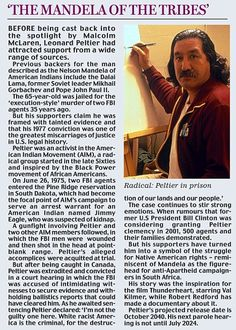 Is It Time to Free Native American Activist Leonard Peltier?