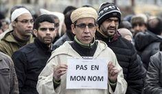 Les musulmans de France manifestent contre Daech à Paris