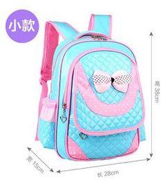 Japanese Korean Fashion Sailor Moon Bowtie Bright Colors School Backpack Bag Kids Adult Teens
