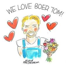 we love boer tom! Blond Amsterdam, E Design, Beautiful Men, Cartoon, Comics, Disney Characters, Prints, Nice, Famous People