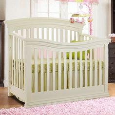 Sorelle Verona 4 In 1 Convertible Crib French White Mini Crib4 1Convertible CribIn FrenchToddler BedBaby