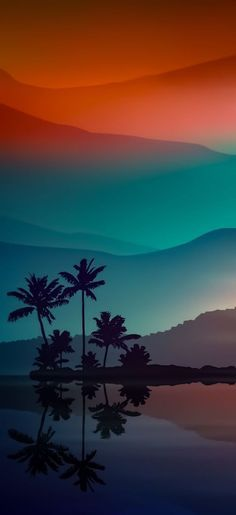 Sunset Wallpaper, Landscape Wallpaper, Scenery Wallpaper, Mobile Wallpaper, Landscape Art, Wallpaper Backgrounds, Wallpapers Wallpapers, Android Phone Wallpaper, Minimalist Wallpaper