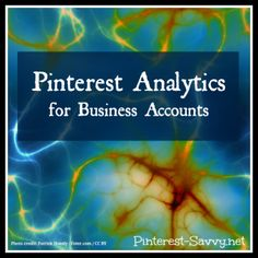 Pinterest Analytics for Business Accounts