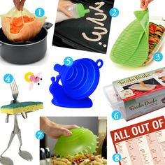 Useful kitchen gadgets.