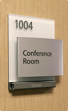 In out sliding signs office door slider signs room - Ada interior signage requirements ...