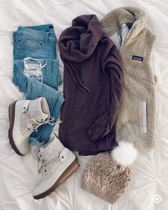 28 Fall Clothes That Make You Look Cool - Fashion Ideas - Luxury Style Fall Winter Outfits, Winter Wear, Autumn Winter Fashion, Winter Clothes, Winter Dresses, Winter Style, Cozy Winter, Casual Winter, Winter Coats