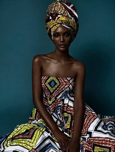 Queens sit pretty #Headwraps
