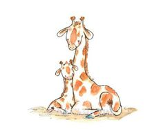 Nursery Art Wild Safari by Kit Chase by trafalgarssquare on Etsy
